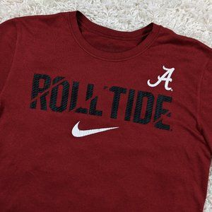 Nike Alabama Crimson Tide Roll Tide Shirt Men A32